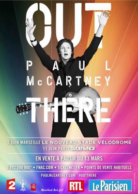 Paul McCartney en concert au Stade de France en juin 2015