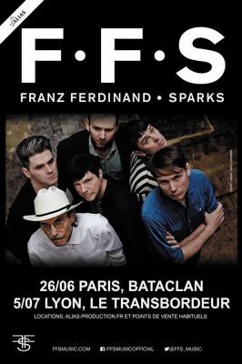 Franz Ferdinand avec Sparks en concert au Bataclan de Paris