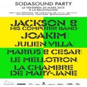 Sodasound Party à La Bellevilloise avec Jackson & His Computer Band
