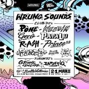 Wrung Sounds à La Bellevilloise avec Dj Pone