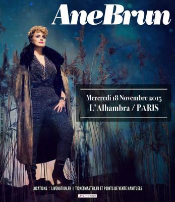 Ane Brun en concert à l'Alhambra de Paris