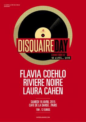 Disquaire Day 2015 au Café de la Danse avec Flavia Coehlo