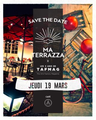 Ma Terrazza au Café A : dernière session d'hiver le 19 mars 2015