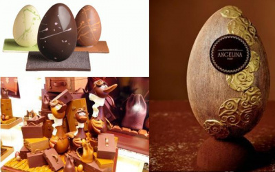 Les chocolats de Pâques 2015 des Grandes Maisons à Paris