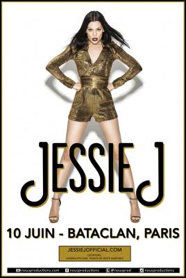 Jessie J en concert au Bataclan de Paris en juin 2015