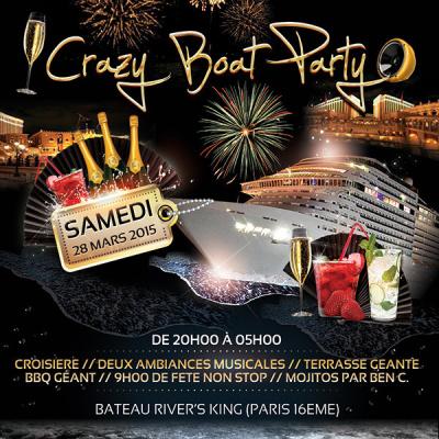 Crazy Boat Party sur le Bateau River's King