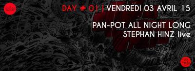 WIHMini Festival 2015 au Zig Zag Club : Day # 1 avec Pan-Pot All Night Long