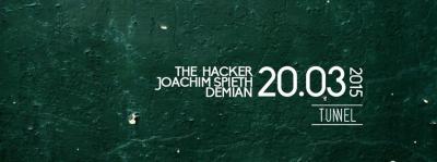 The Hacker, Demian et Joachim Spieth au Tunnel Paris