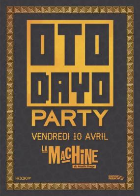 Excuse My French présente Otodayo Party à La Machine