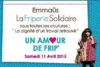 """Emmaüs La Friperie Solidaire : """"Un amour de Frip'"""" au Point Ephémère"""