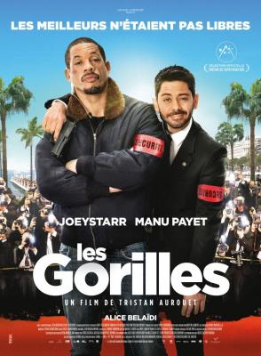 Les Gorilles au cinéma : JoeyStarr et Manu Payet en tournée des salles Franciliennes