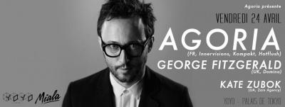 Agoria présente George Fitzgerald et Kate Zubok au Yoyo