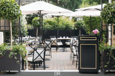 Le Shangri-La Hotel, Paris rouvre sa terrasse La 8 Iéna