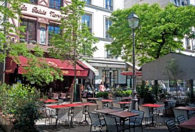 La terrasse du Pharamond en plein coeur de Paris