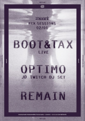 Meant : The Rex Club Sessions #05 : gagnez vos invitations !