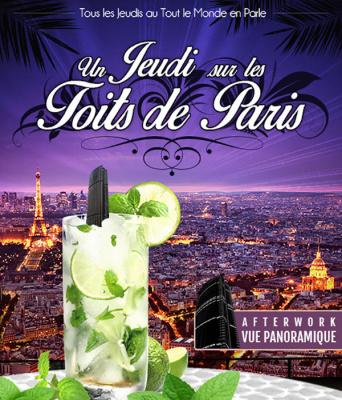 """After work estival """"Un jeudi sur les toits de Paris"""""""