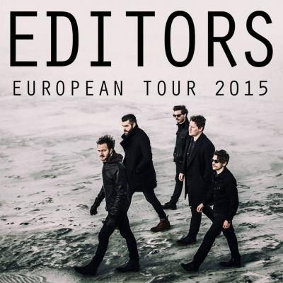 Editors en concert au Trianon de Paris en octobre 2015