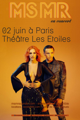 MS MR en concert au Théâtre des Etoiles