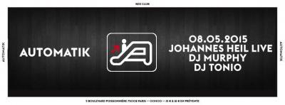 Automatik au Rex Club avec Johannes Heil