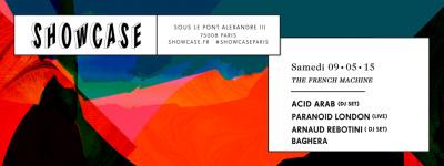 The French Machine au Showcase avec Acid Arab
