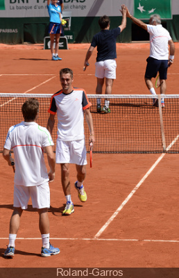 Le Trophée des Légendes Perrier 2015 à Roland-Garros
