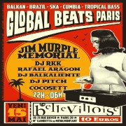 Global Beats à La Bellevilloise avec Jim Murple Memorial