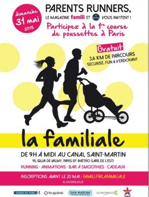 La familiale : la première course de poussettes dans Paris