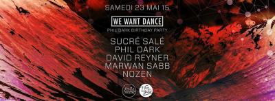 We Want Dance au Zig Zag Club avec Sucré Salé