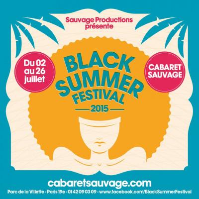 Black Summer Festival 2015 au Cabaret Sauvage : dates, programmation et réservations