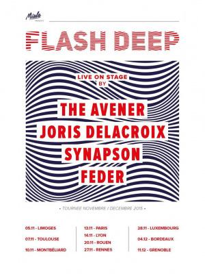 Tournée Flash Deep au Zénith de Paris en novembre 2015