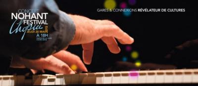 Nohant Festival Chopin 2015 : concert gratuit en gare de Paris-Austerlitz