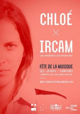 Fête de la Musique 2015 à Paris : Chloé X IRCAM au jardin du Palais Royal