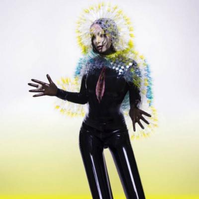 Björk à la Grande Halle de La Villette pour le Pitchfork Music Festival Paris 2015