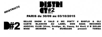 District Festival 2015 à Paris : dates, programmation et réservations