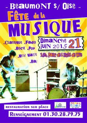 Fête de la musique 2015 à Beaumont sur Oise