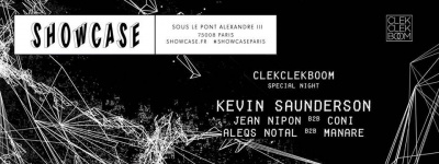 Clekclekboom Night au Showcase avec Kevin Saunderson