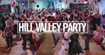 Hill Valley Party au Rex Club