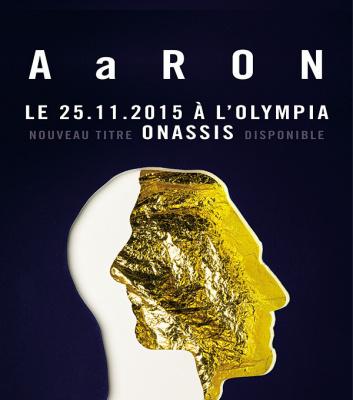 Aaron en concert à l'Olympia de Paris en novembre 2015