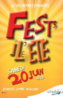 Fest'Île été 2015 à Chatou