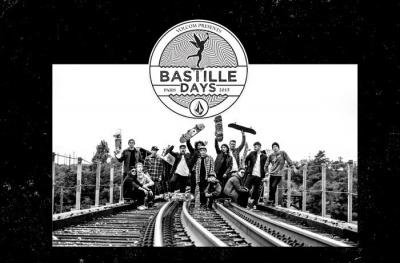 Volcom Bastille Days 2015 sur l'Esplanade du Port de l'Arsenal