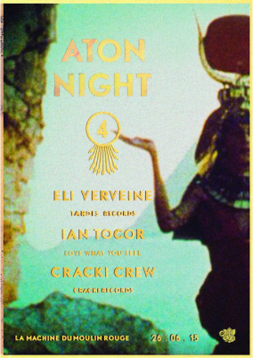 Cracki Aton Night #4 à la Machine du Moulin Rouge