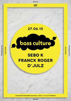 Bass Culture au Rex Club avec Debo K