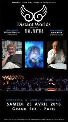 Distant Worlds : Music From Final Fantasy au Grand Rex de Paris en 2016