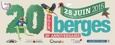Voix sur Berges : 5 000 chanteurs amateurs le long du Canal Saint-Martin