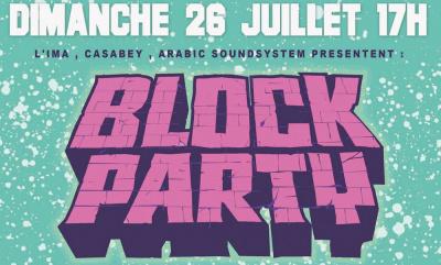 Block Party sur le Parvis de l'Institut du Monde Arabe