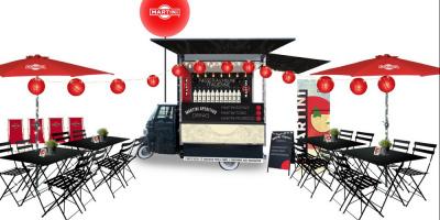 Les Piaggios Bars Ma Terrazza investissent les terrasses parisiennes
