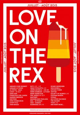 Love on The Rex : soirées estivales au Rex Club