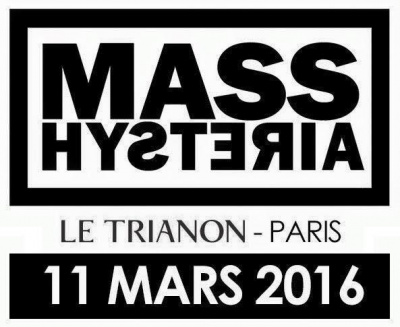Mass Hysteria en concert au Trianon de Paris en 2016