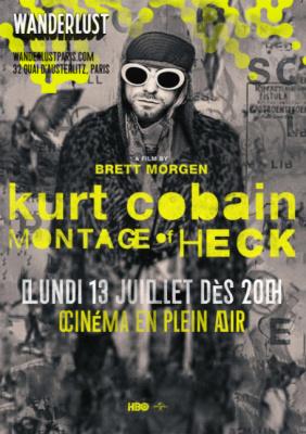 """Cinéma en plein air au Wanderlust : projection de """"Cobain : Montage Of Heck"""""""