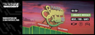 Yard Summer Party au Wanderlust